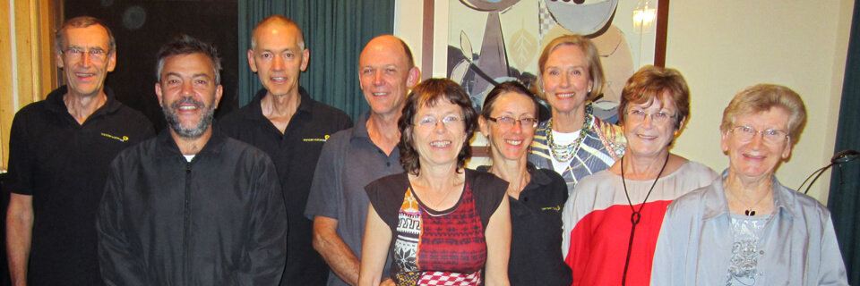 The team at Cancer Voices Australia