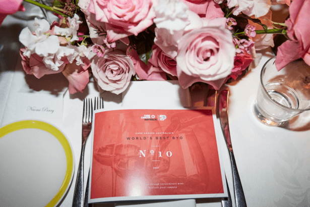 Table placements at OTTO Ristorante