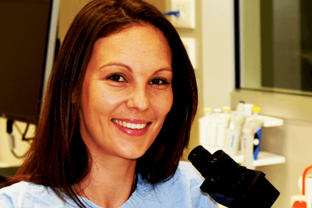 Dr Kara Perrow, a 2014 Grant recipient - solely supported by  The Can Too Foundation .