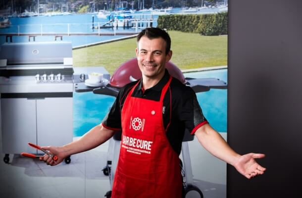 Luke Naish, Barbecues Galore CEO
