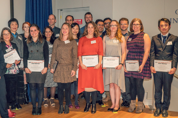 Our Class of 2018 at our annual Researcher Symposium and Showcase.