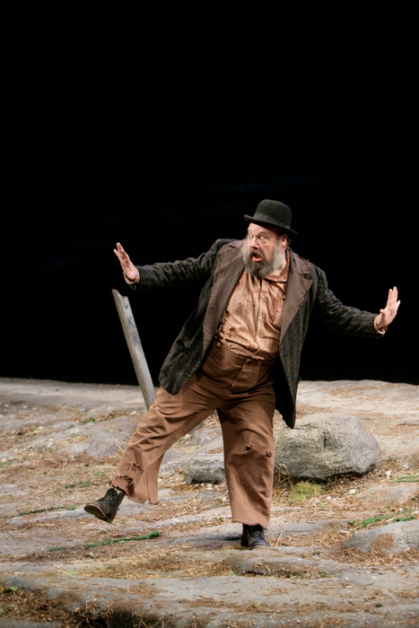 John Ahlin in Waiting for Godot