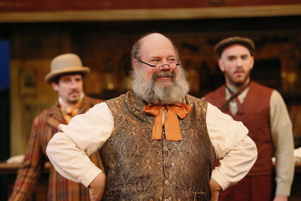 John Ahlin in Taming of the Shrew
