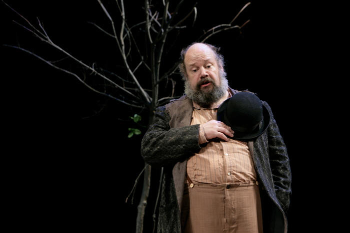 John Ahlin as Didi in Waiting for Godot