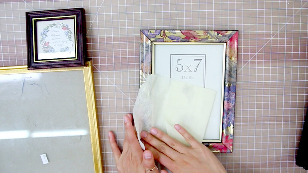 Remove sale tags, and clean up with a dust wipes.