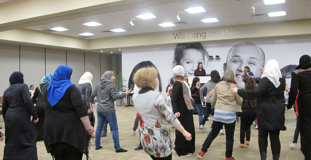 Bollywood Dance Fitness @ AWO's March Break Newcomers Women and Girl's Wellness Conference