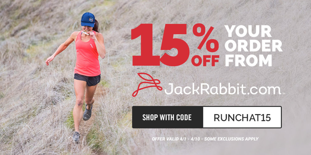 JackRabbit gets you ready for spring!  — #RunChat
