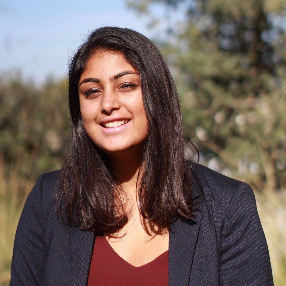 Nayanika Kapoor USG of Delegate Affairs Year: Sophomore Major: Journalism & Political Economy Hometown: Palo Alto, CA MUN Experience:  2 years Interests:  Travel, reading, political activism