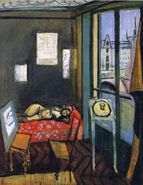 Henri Matisse, Studio Quai St Michelle