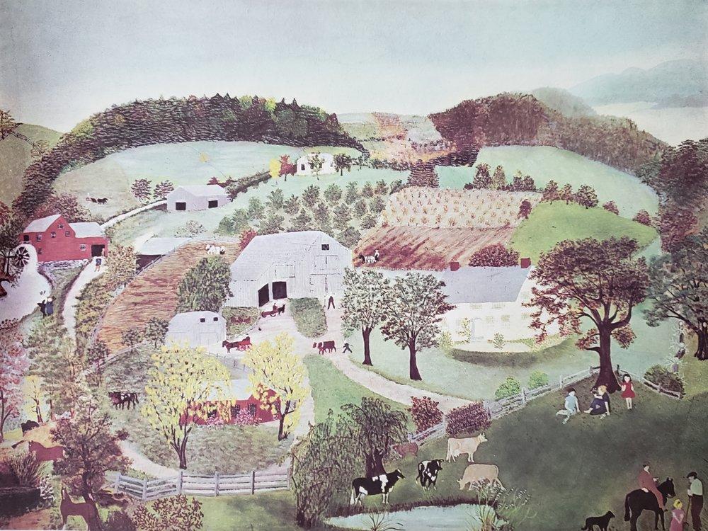 Grandma Moses Childhood Home, 1946