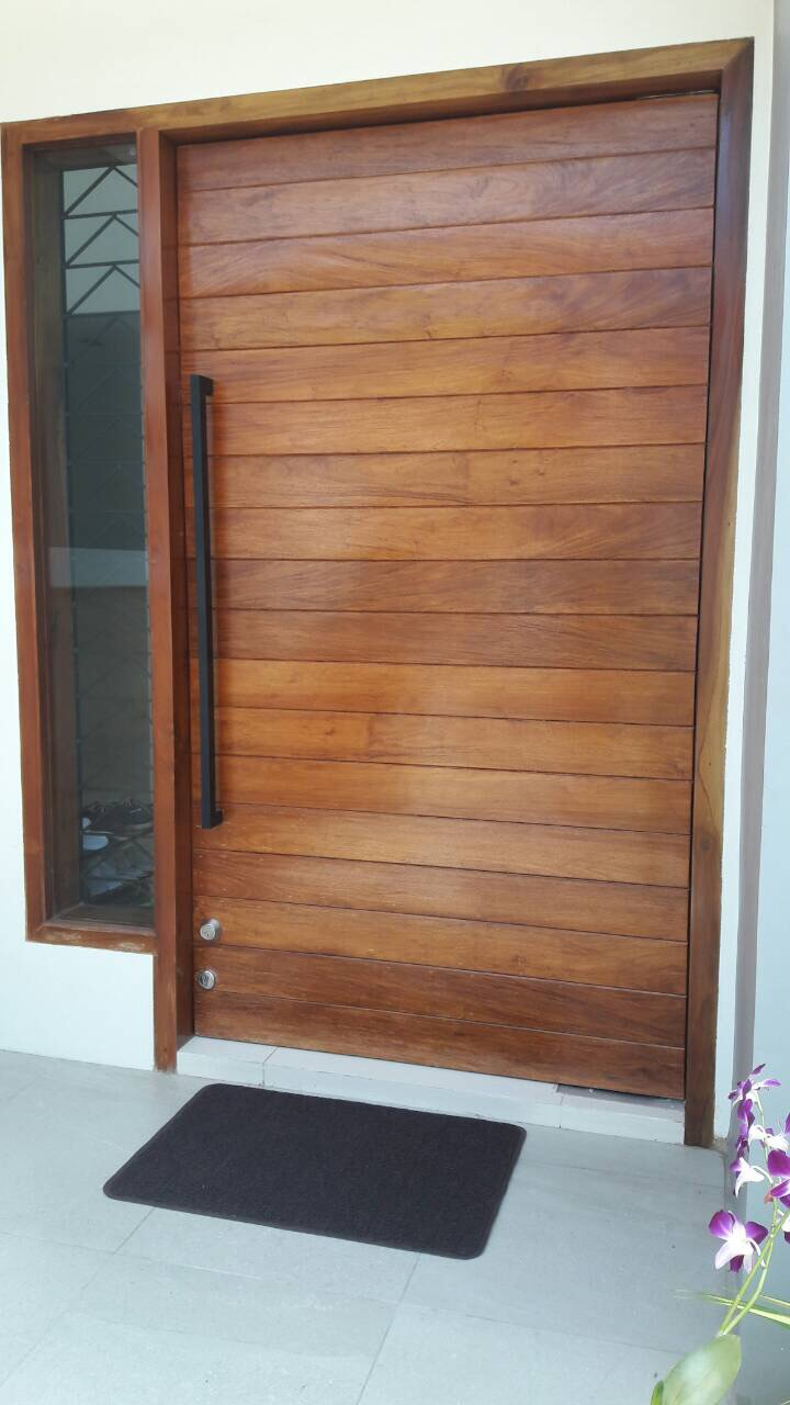 Solid main door