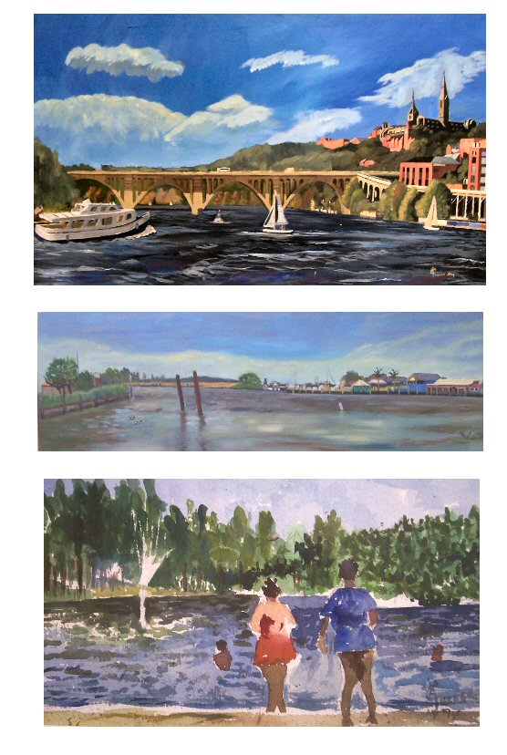 Clive A. Turner paintings