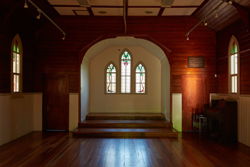Henderson - Corban Estate Arts Centre - Old St. Michael's Church   (you can have a  Skinny Love Wedding  here!)
