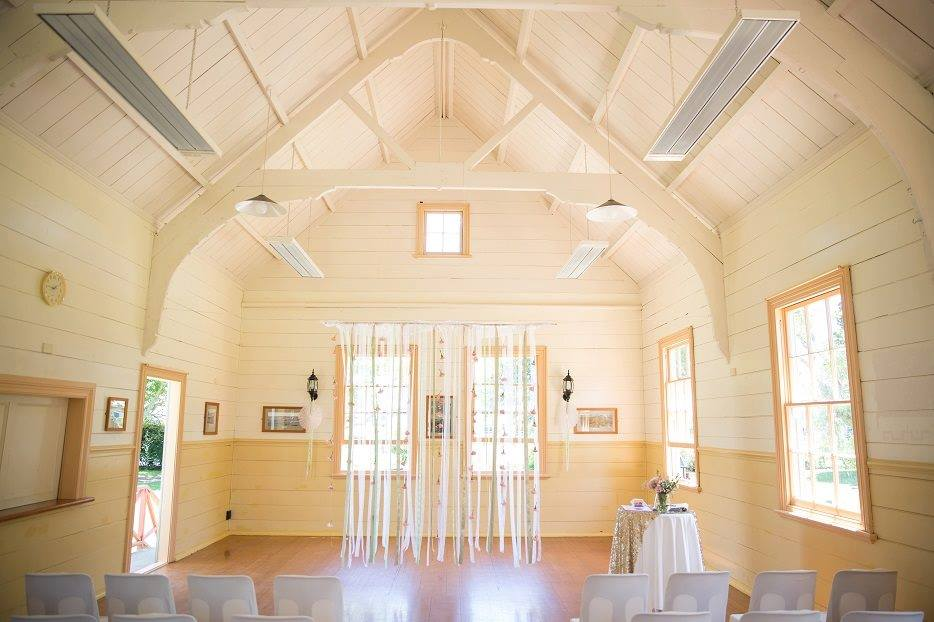 Flat Bush - Old Flat Bush School Hall   (why not have a  Skinny Love Wedding  at this venue?)