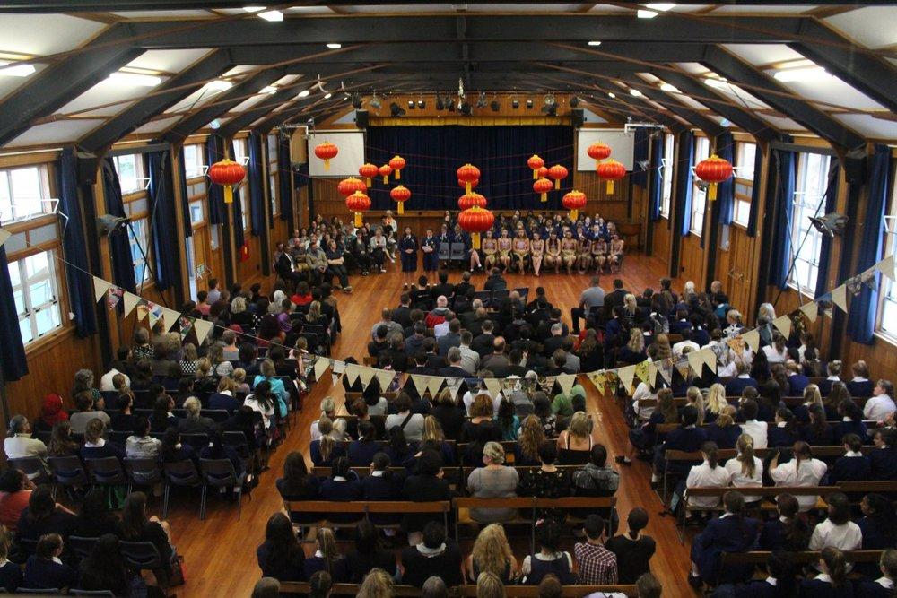 Mount Victoria - WEGC School Hall