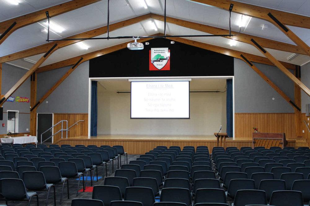 Wainuiomata - Wainuiomata Intermediate School Hall