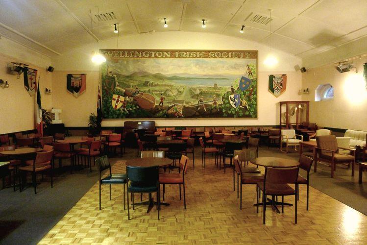 Wellington CBD -  Wellington Irish Society Hall