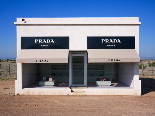 HEY It's the home of that badass little Prada store out of nowhere.. Not a mirage, but definitely not going to be able to save you if you are caught in a hill..you know, the hill with EYESSSS -