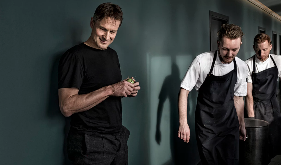 Claus Meyer, aka The Father of the New Nordic Cuisine Movement, and Co-founder of the legendary noma restaurant. It was ranked #1 in the entire world 4x over.   - Photo by The Guardian