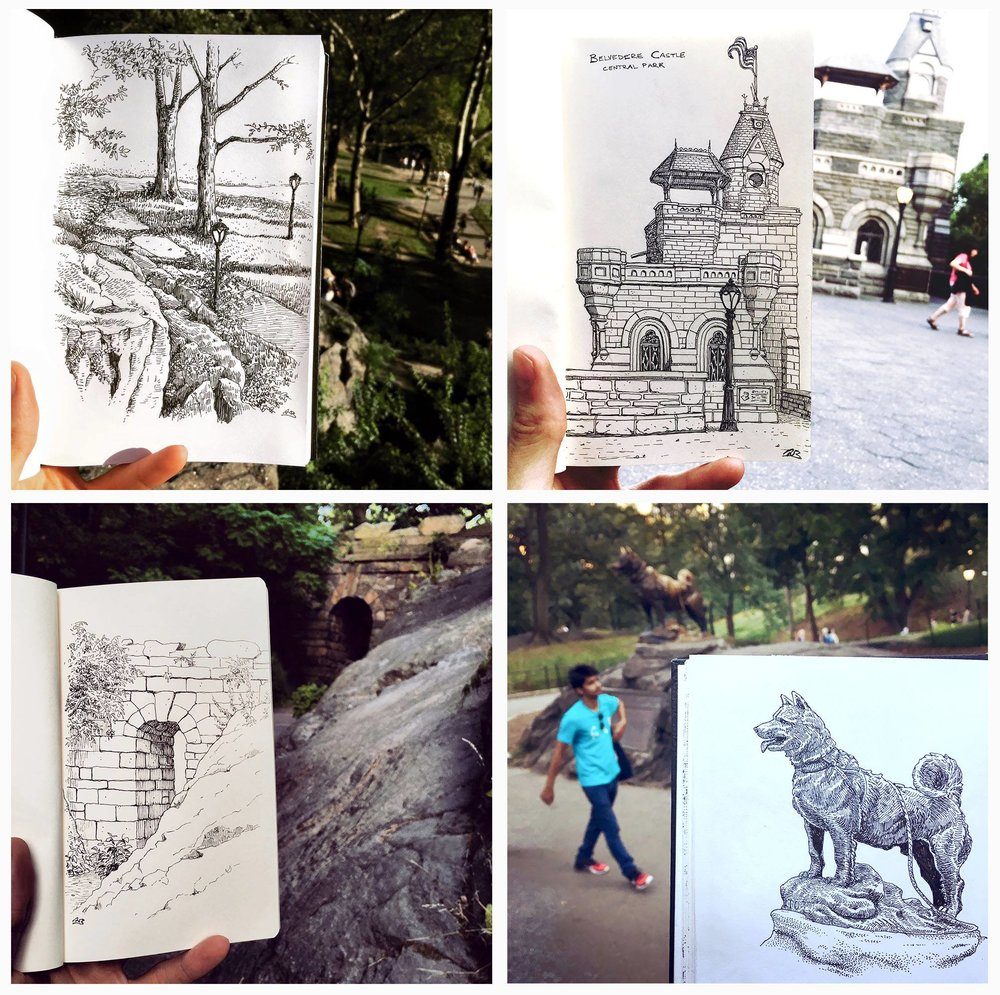 Sketches of NYC