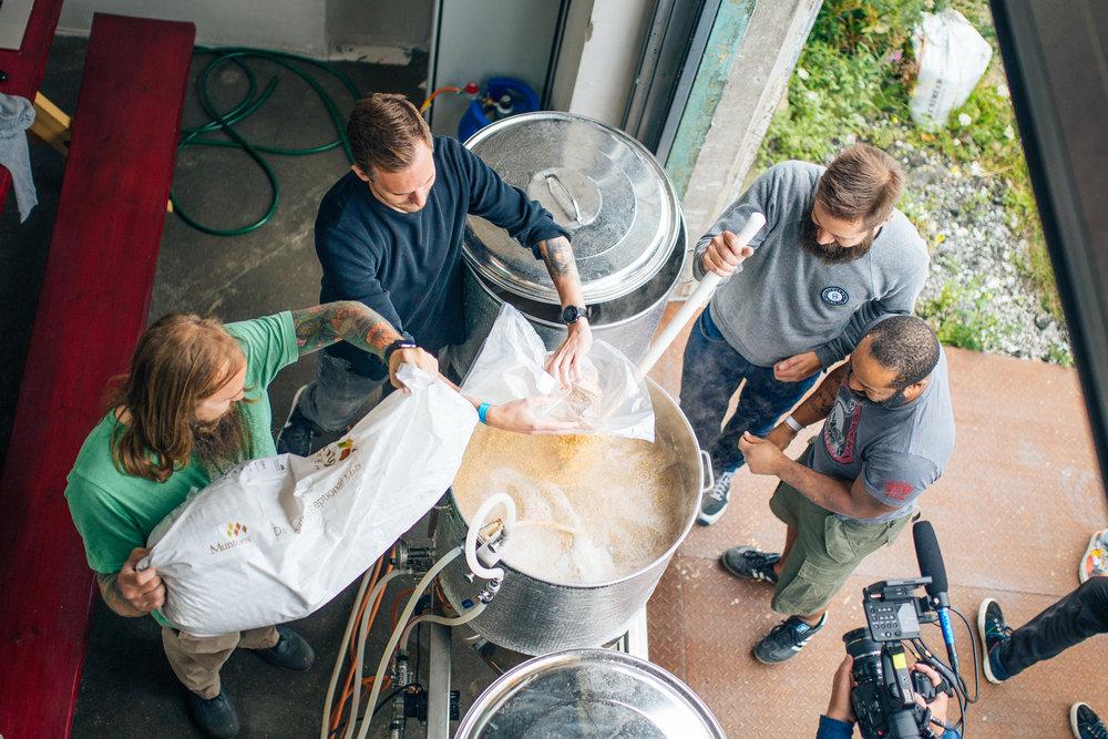 Mikkeller Men brewing Photo by: Markus Glavind
