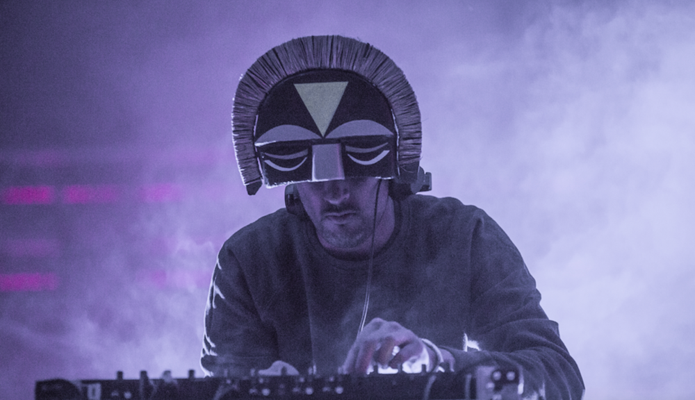 SBTRKT. Photo by Markus Glavind