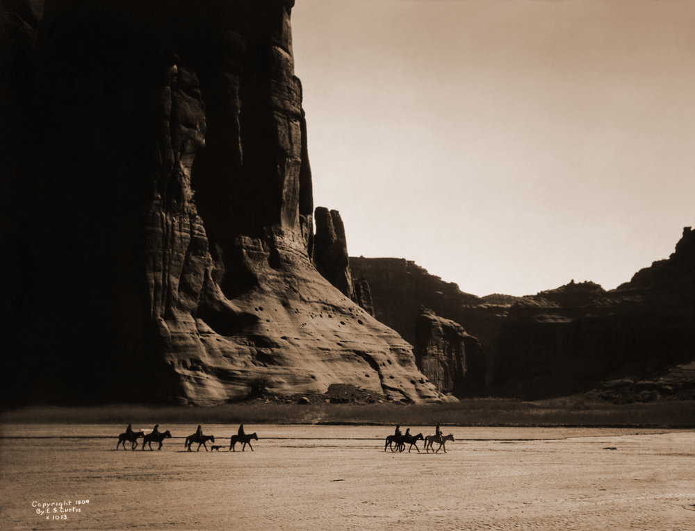 Canyon de Chelly, 1904, by Edward S. Curtis.jpg
