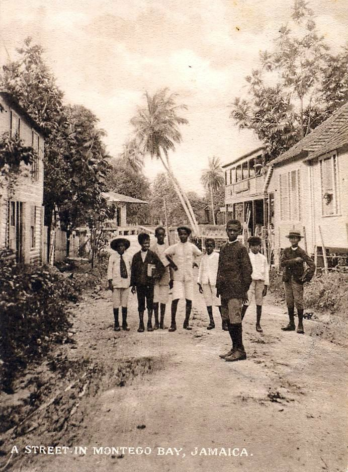 "A Brief History of Jamaica - Photograph by Algernon E Aspinall. Image on postcard posted in Retreat, Jamaica 1922/ Flickr Brodnax MooreOver 2,500 years ago, Taino Indians (like the natives of Puerto Rico) named the island Xaymaca, which meant ""land of wood and water"". 1494 -"