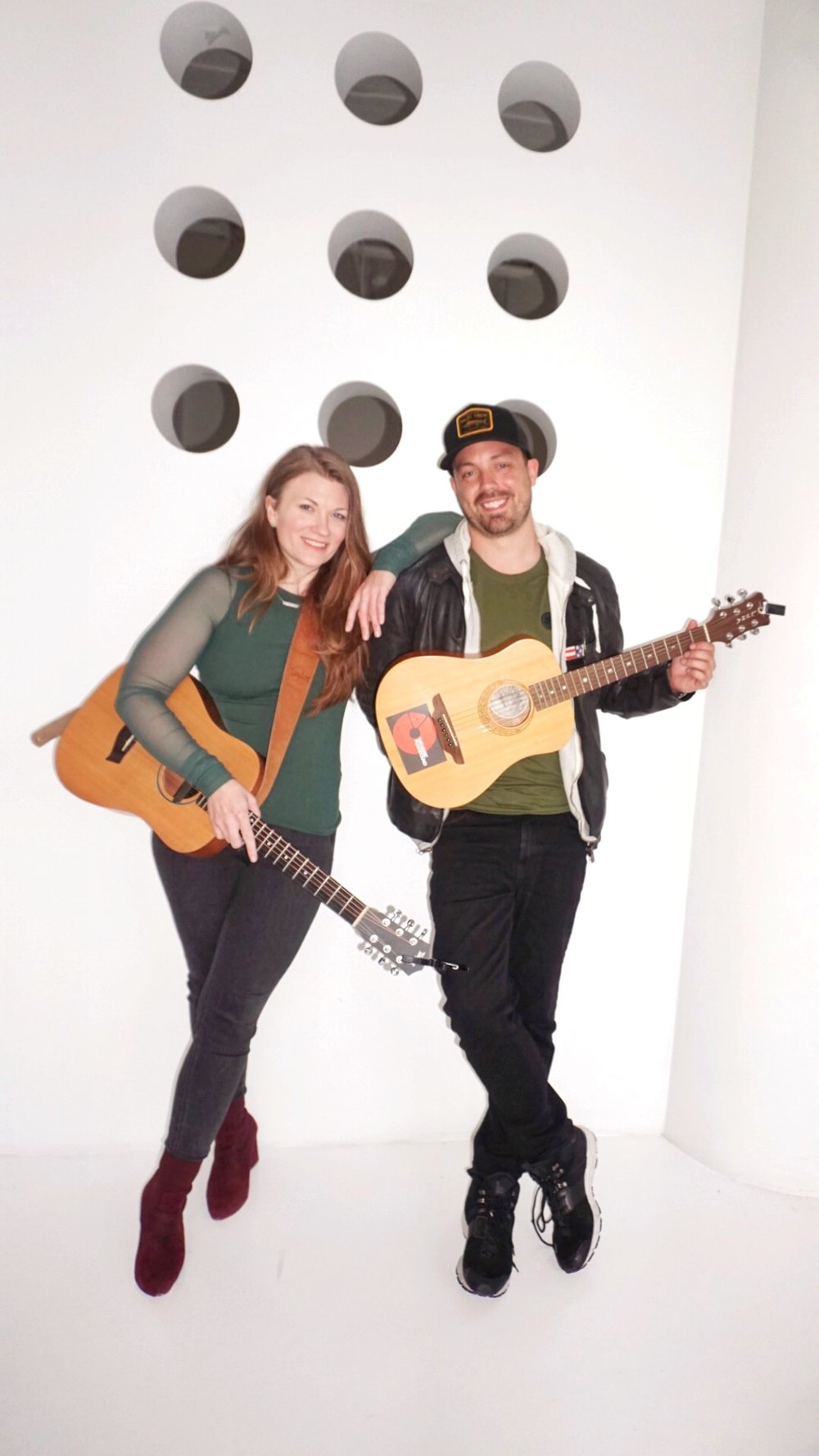Kathryn and Andrew. Folk Band or co-founders?