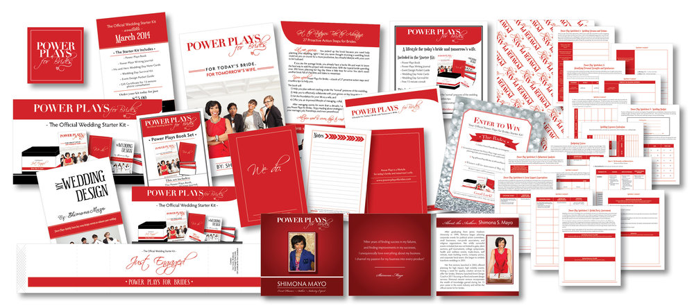 Book Launch Materials - Book Covers, Press Kit, Packaging Materials