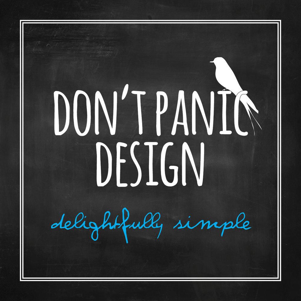 Don't Panic Design Etsy.com Printable Invitations