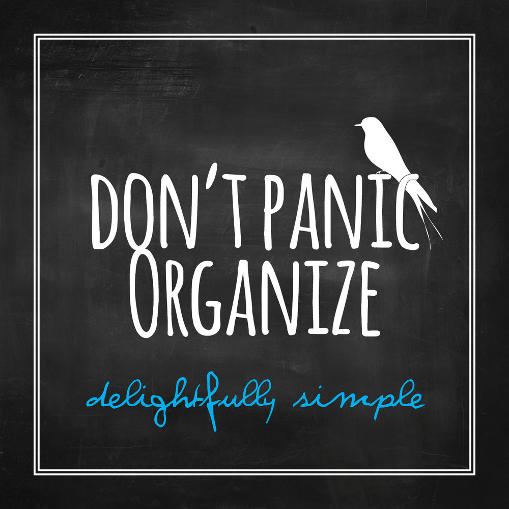 don't panic organize etsy.com printable calendars