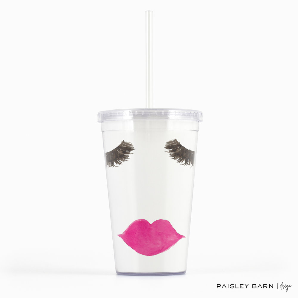 Lashes and Lips BeverageTumbler  ETSY.jpg