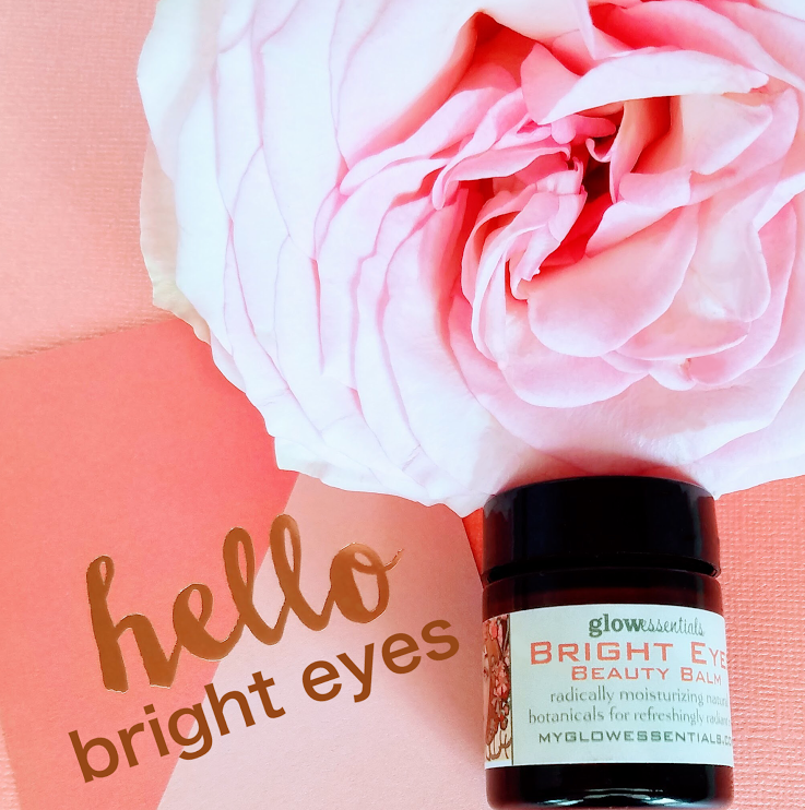 Bright Eyes Beauty Balm - This concentrated, highly moisturizing, all natural balm, is made with a blend of premium organic botanical ingredients. Filled with oils rich in antioxidants and MSM, it increases skin elasticity and supports collagen production, making the skin cells permeable and receptive to plumping and hydration by enhancing absorption of other active ingredients.