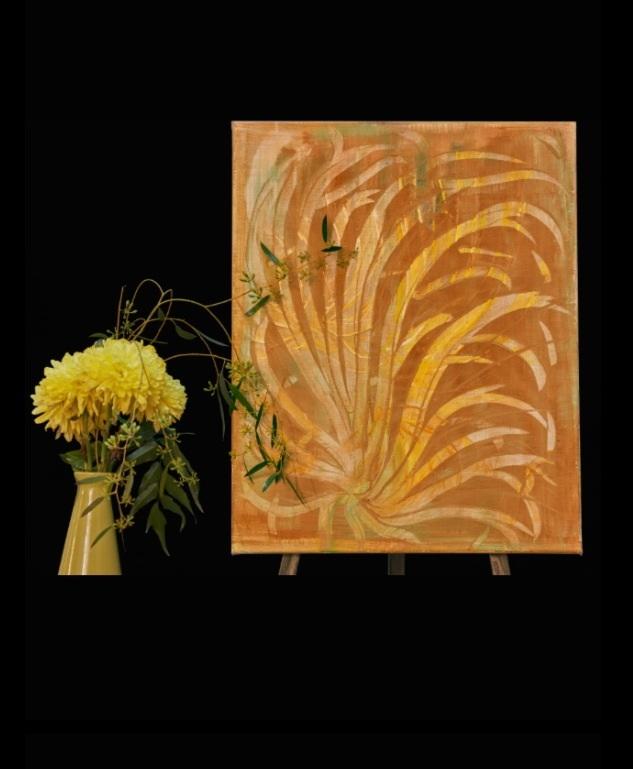 """H. """"Au Lait"""" Painting by Aisla Islava"""