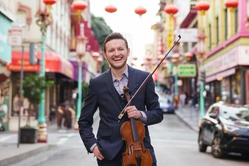 Eliot Lev, San Francisco Symphony Violinist