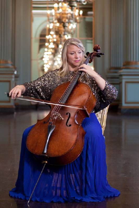 Jennifer Kloetzel, Cello