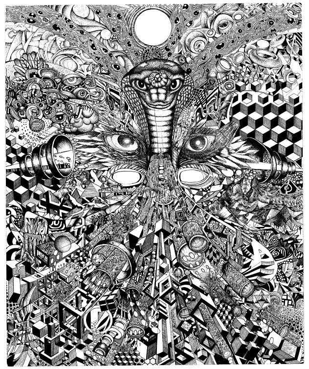 Cosmic Serpent  | Collaboration with Leo Shallat -  leoshallat.com