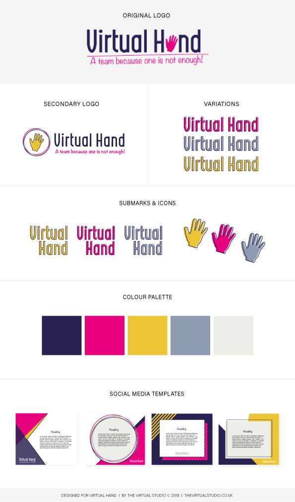 Virtual Hand Brand Board