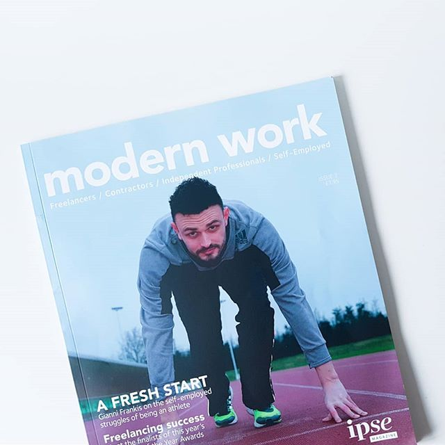 Have you picked up your copy of @teamipse modern work yet? As well as being full of fab content this year's Freelancers are also featured!! 🎉