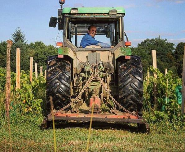 Chateau de Ravignan - Producteur d'Armagnac - Tracteur.JPG
