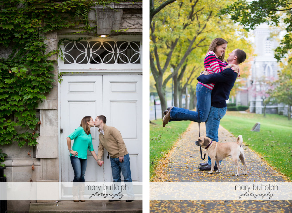 Couple express their love in two different ways at Syracuse University Engagement