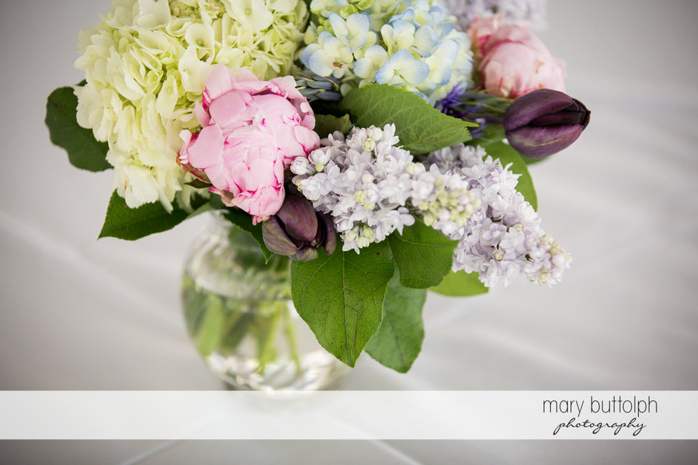A beautiful bouquet at the Inns of Aurora Wedding