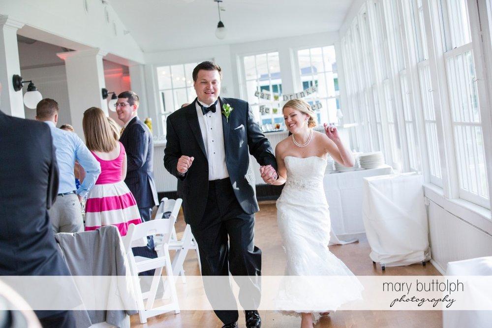 Couple dance at the wedding venue at Emerson Park Pavilion Wedding
