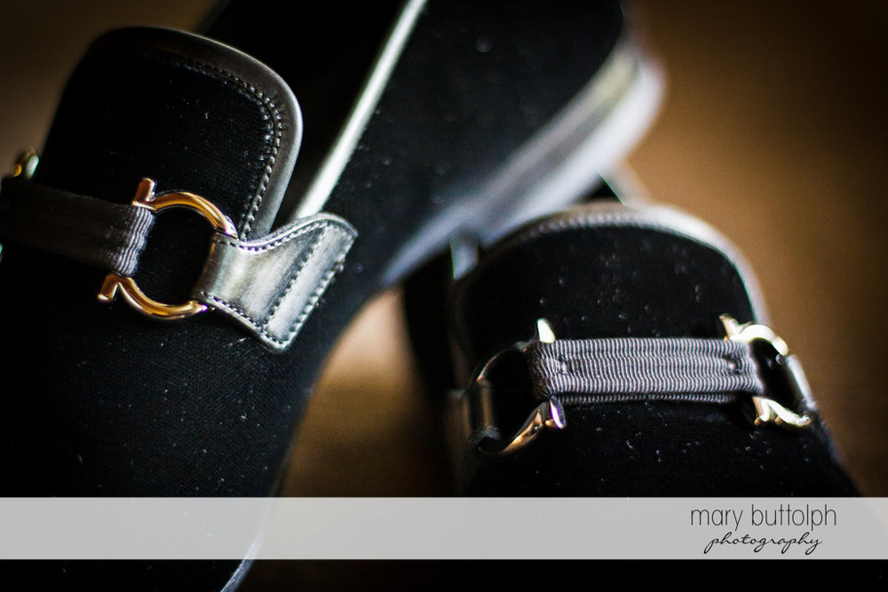 Groom's weeding shoes at Skaneateles Country Club Wedding