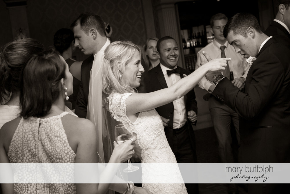 Couple light up the night with their dance at Skaneateles Country Club Wedding