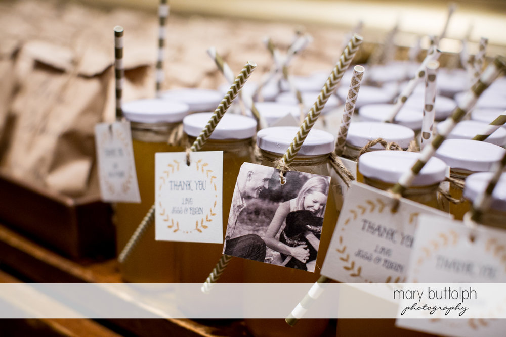 Tasty treats for guests at the Inns of Aurora Wedding