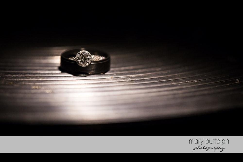 Bride's wedding ring at SKY Armory Wedding