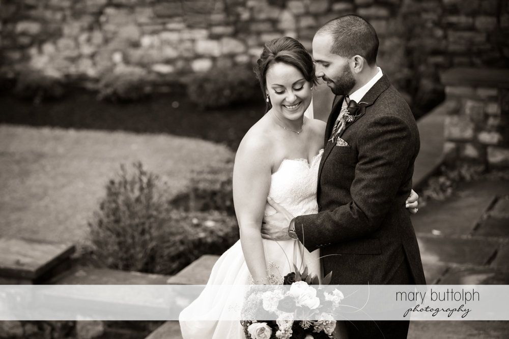 Bride and groom at Sherwood Inn Wedding
