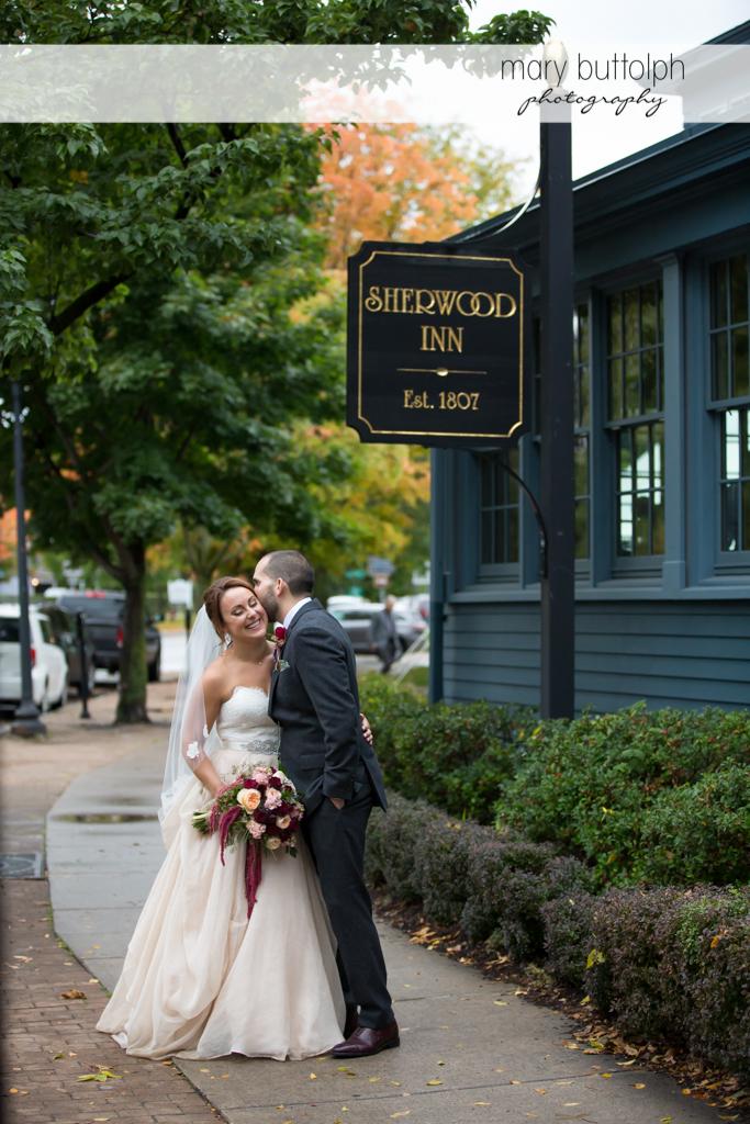 Couple prepare for Sherwood Inn Wedding
